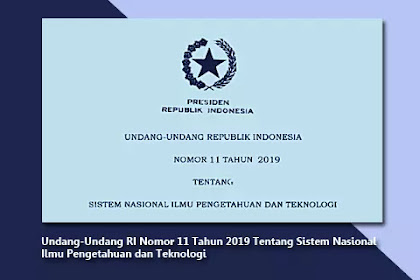 Sistem Nasional Ilmu Pengetahuan dan Teknologi