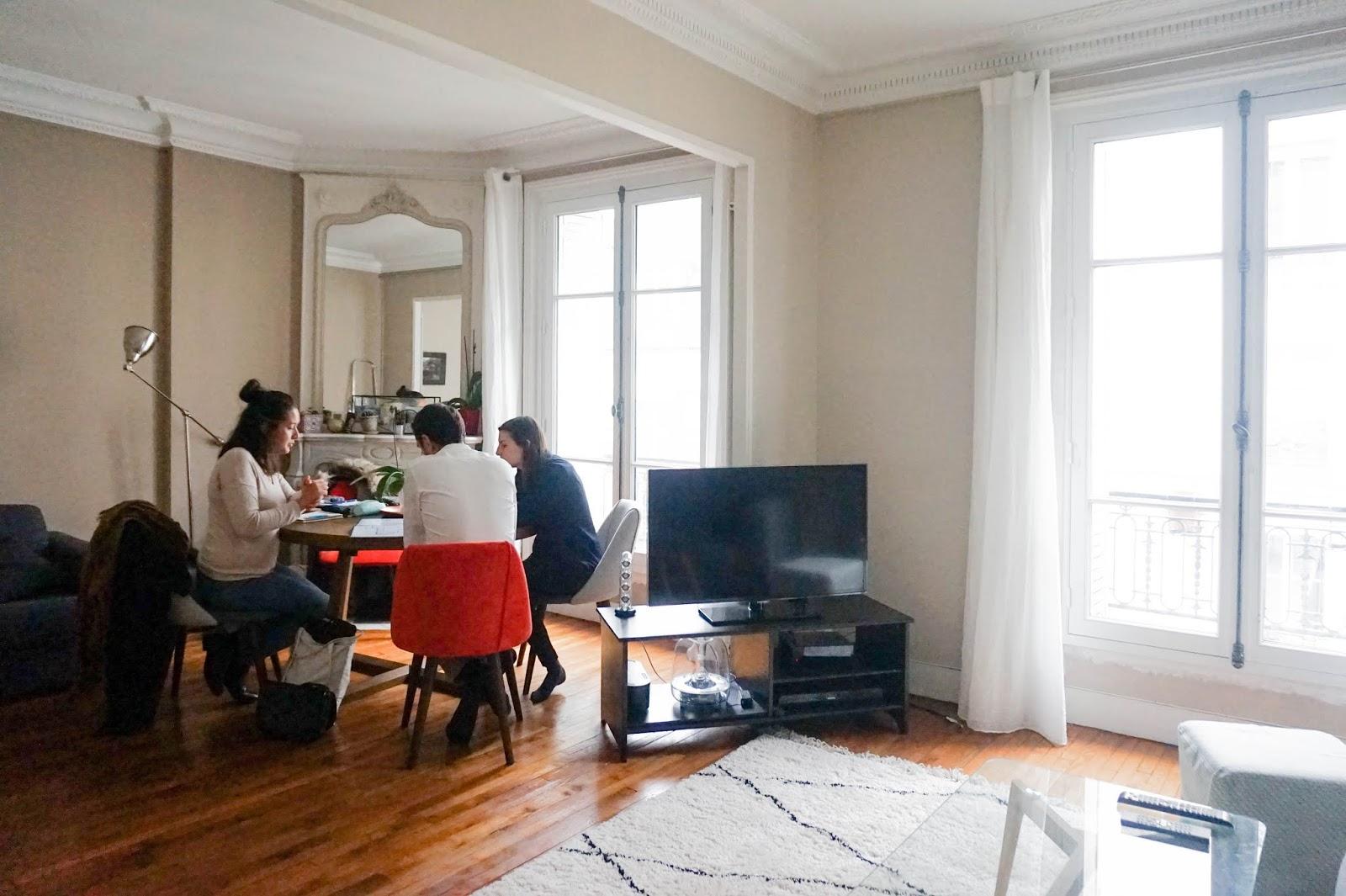 Cuisine Séparée Du Salon adc l'atelier d'à côté : aménagement intérieur, design d