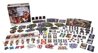 comopentes de Star Wars imperial assault el juego de mesa miniaturas y componentes