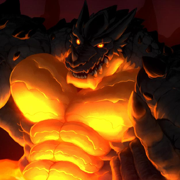 Dragon in Lava Wallpaper Engine