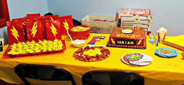 The Flash Inspired Birthday Party
