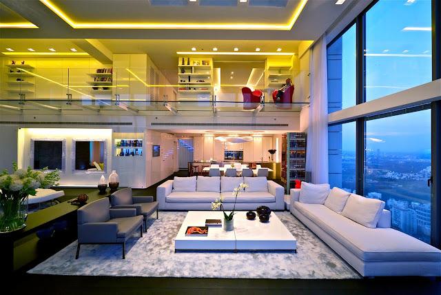 Thiết kế sáng tạo trong căn hộ tại The Legend