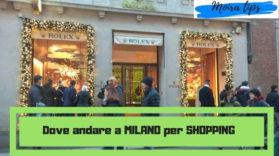 shopping a Milano