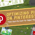 Optimizing Pins on Pinterest Make Each Pin Count for Higher Reach