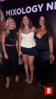 Daniela García, Stephabia Trejo y Denisse Naime.