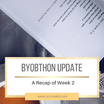 #BYOBthon Update: Progress Report for Week 2
