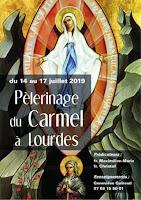 Pèlerinage Carmel Lourdes 2019