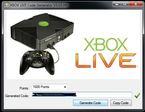 Xbox live codes generator free Xbox Live