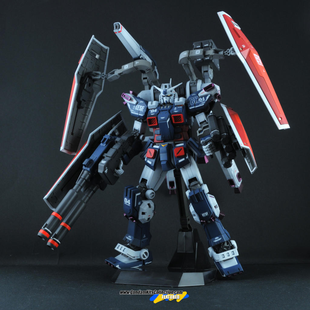 Custom Build: MG 1/100 FA-78 Full Armor Gundam [ Gundam Thunderbolt] Ver. Ka
