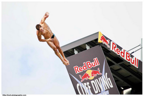 Photos du Red Bull Cliff Diving World Series en juin 2011 à la Rochelle