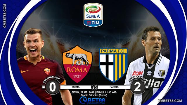 Prediksi Bola Roma VS Parma