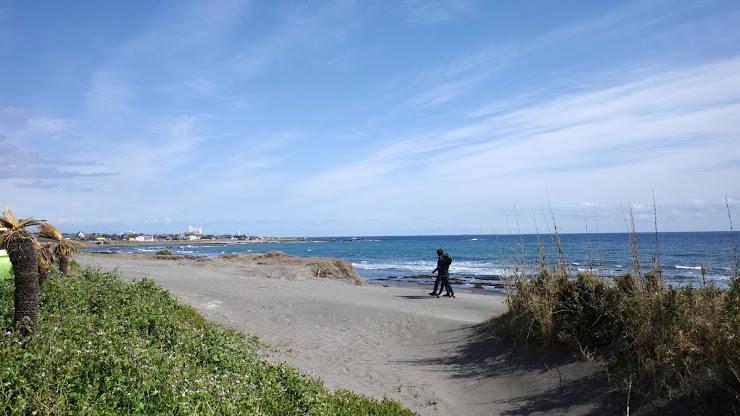 千倉の海岸からの風景
