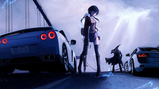 Anime Yang Memperlihatkan Mobil Mewah Super Keren