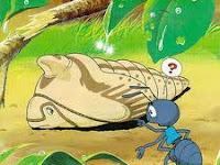 Dongeng anak cerita Semut dan Kepompong