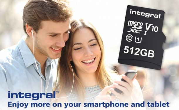 Integral microSD SDXC UHS-I U1 512GB