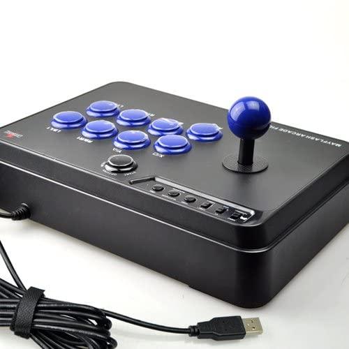 un joystick principal con 8 botones de acción