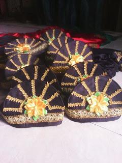 topi atau bulu teleng tari saman