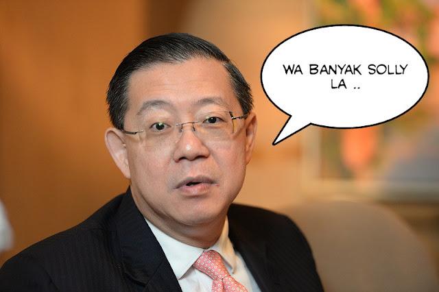 Takut kena saman, Guan Eng minta maaf kepada penduduk kampung.