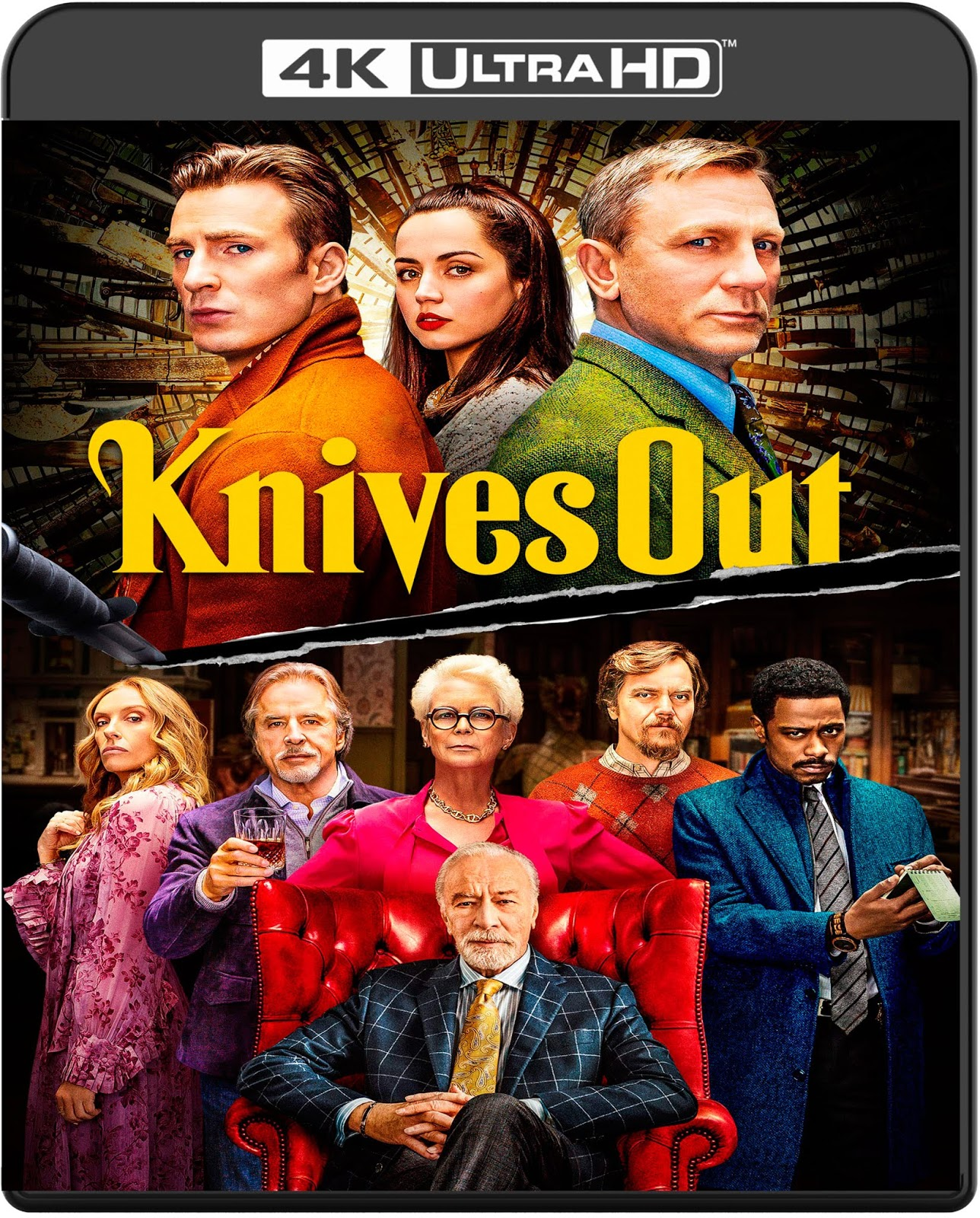Knives Out [2019] [UHD] [2160p] [Latino] [Proper]