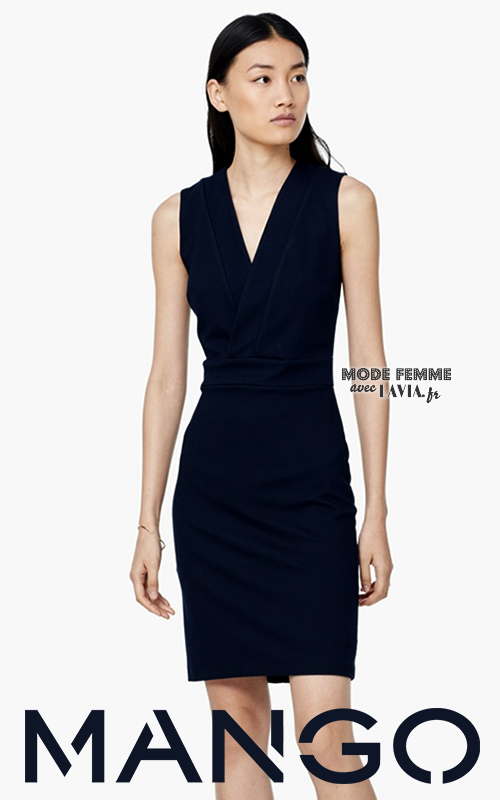 Robe noire ou bleu marine