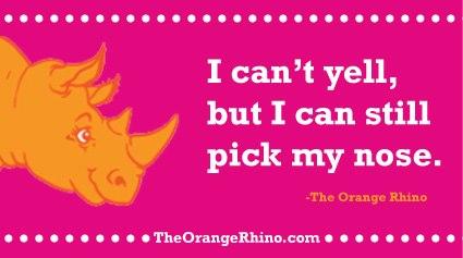 NurturingtheNaturalMama: Orange Rhino Update- OMG I'VE