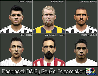 Facepack N6 By Bou7a Facemaker