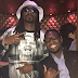Timi Dakolo pictured with Snoop Dogg at the rapper's album listening party