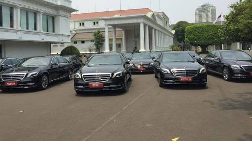 Istana Sewa 18 Mobil Untuk Memanjakan Tamu Pelantikan Jokowi, Ternyata Biayanya Segini