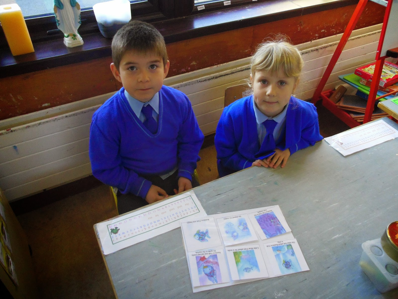 Literacy Site The Rainbow Fish