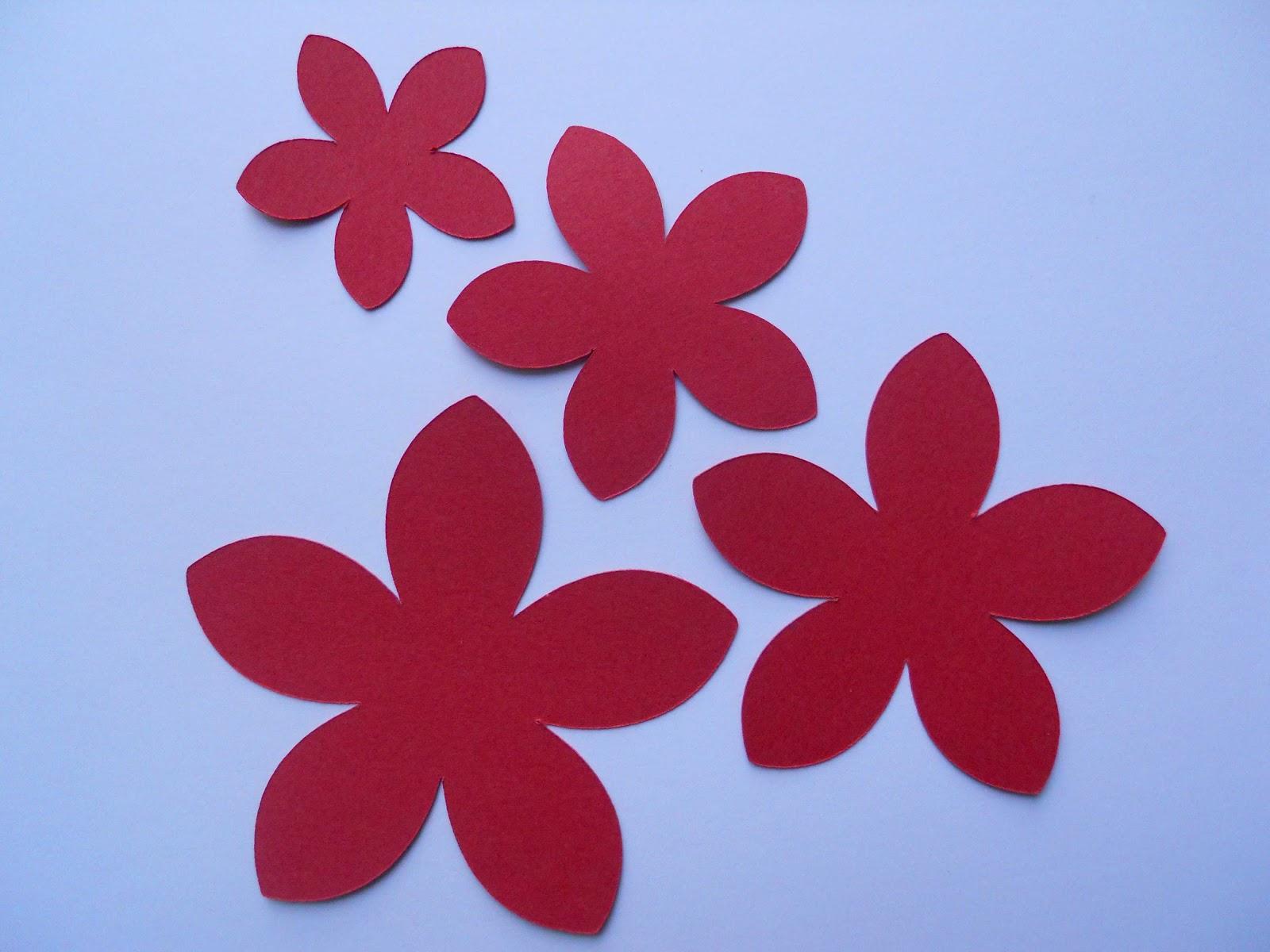 drea u0027s scraps of inspiration poinsettia flower tutorial