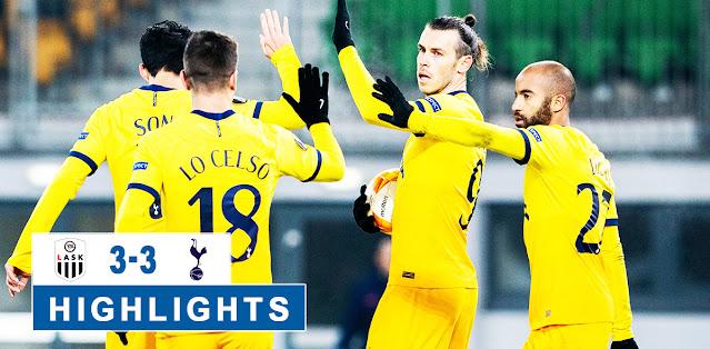LASK Linz vs Tottenham Hotspur – Highlights