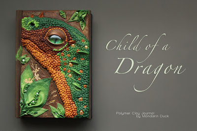 Child of a Dragon Journal Cover by Mandarin Duck