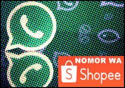 Nomor Wa Shopee Admin Seller Terbaru