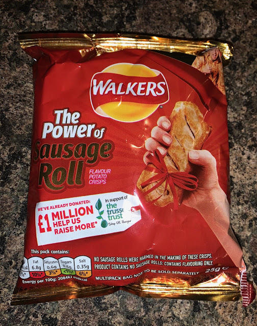The Power of Sausage Roll Walkers Crisps