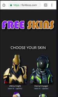 Fortboss.com | Fortboss skin, Dapatkan Skin gratis melalui fortboss.net