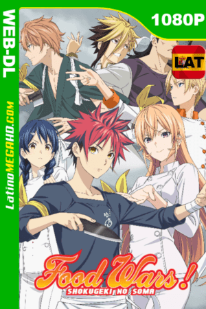 Food Wars: Shokugeki no Soma (Serie de TV) Temporada 2 (2016) Latino HD WEB-DL 1080P - 2016