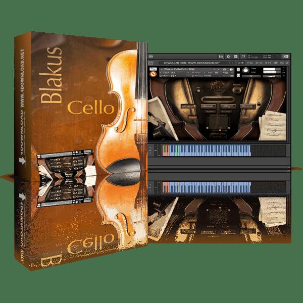 Embertone Blakus Cello KONTAKT Library