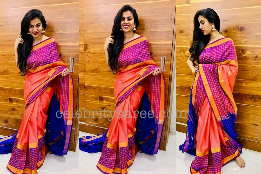 Sravana Bhargavi Silk Saree - Saree Blouse Patterns