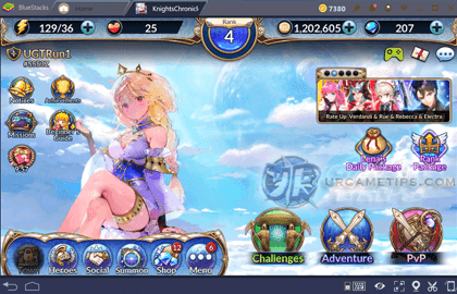 How To Play Knights Chronicle on Bluestacks