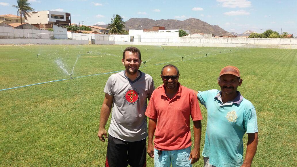 f0b4c8d95a BLOG DO TOSCANO NETO  Gramado do Estádio Municipal José Henrique ...