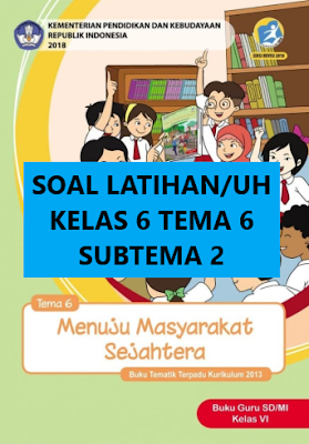 Latihan Soal Tema 6 Kelas 6 Subtema 1