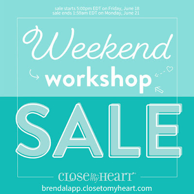 Weekend Workshop Sale