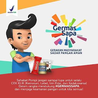 BPOM Banjarmasin Kampanyekan GERMAS SAPA