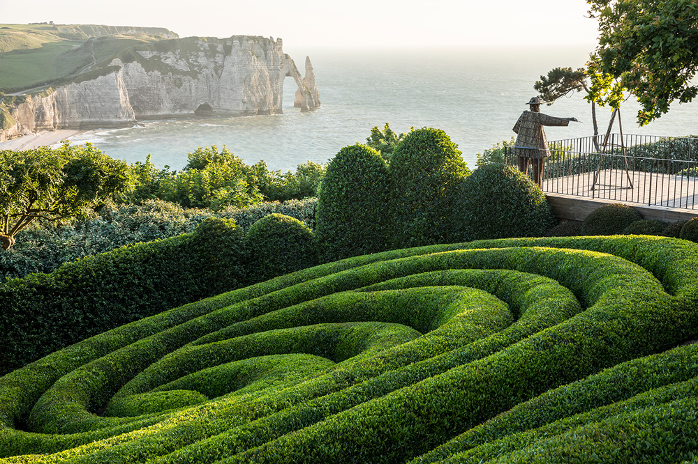 Сады Этрета во Франции