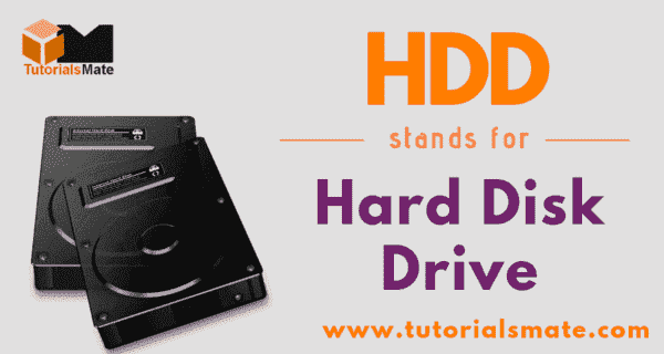 HDD Full Form