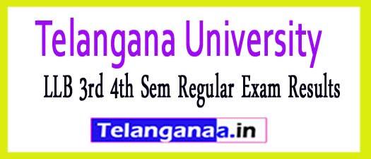 TU LLB 3rd 4th Sem Regular Exam Results 2018