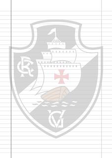 Papel Pautado do Vasco da Gama PDF para imprimir na folha A4