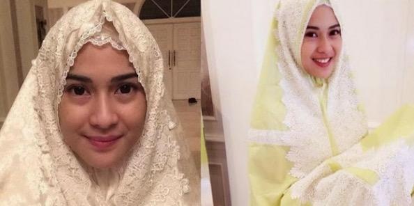 10 Artis Cantik Indonesia yang Memutuskan Untuk Memeluk Islam