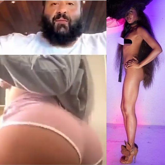 Instagram users called out  Naomi Campbell after she condemned a scantily-clad woman who twerked on DJ Khaled's IG Live