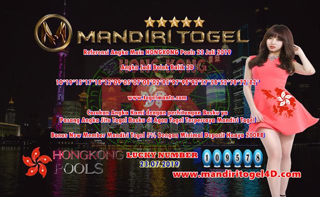 Prediksi Togel Hongkong Mandiri Togel 23 Juli 2019